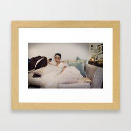 The Sylph Unwinds (III) Framed Art Print