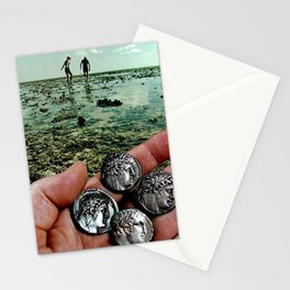 Hunting for treasure Stationery Cards