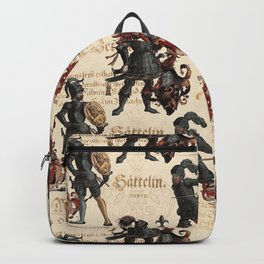 Medieval Knights in Shining Armor Backpack