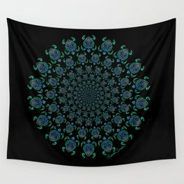 Tribal Turtle Tunnel Wall Tapestry