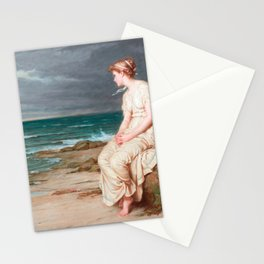 John William Waterhouse - Miranda Stationery Cards
