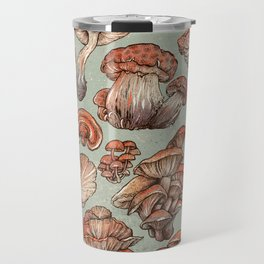 A Series of Mushrooms Travel Mug