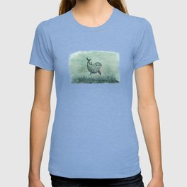 """Notches"" by Amber Marine ~ Indian River Lagoon dolphin art, watercolor painting, (Copyright 2013) T-shirt"
