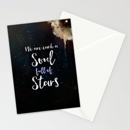 Soul Full of Stars Stationery Cards