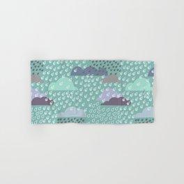 autumn rain pattern Hand & Bath Towel