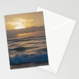 fluffy silky waves Stationery Cards