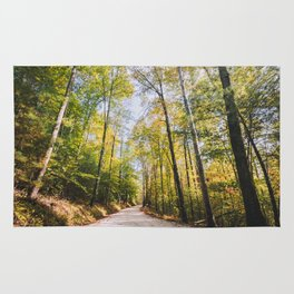 Forest Road - Muir Valley, Kentucky Rug