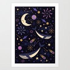 Sea Space Art Print