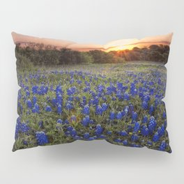 Bluebonnet Texas Pillow Sham