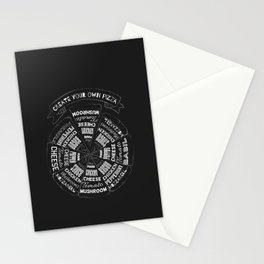 Choose a Slice Stationery Cards