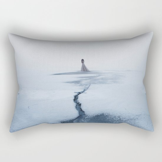 Winter's Sorrow Rectangular Pillow