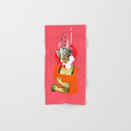 Peter Paul Rubens Pop Portrait v2 Hand & Bath Towel