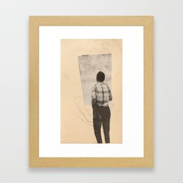 Another Window Framed Art Print