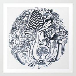 Feild of dreams Art Print