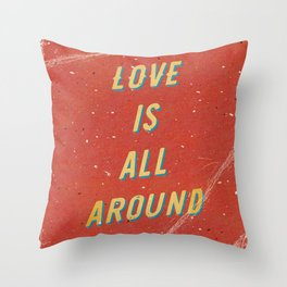 Love is all around - A Hell Songbook Edition Throw Pillow