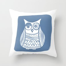 Hoot 1 Throw Pillow