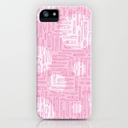 Pink Pens iPhone Case