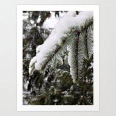 Snow More Art Print