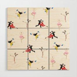 Dance Dance Dance Wood Wall Art