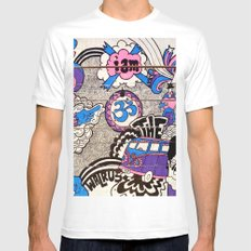 I Am The Walrus Mens Fitted Tee White MEDIUM