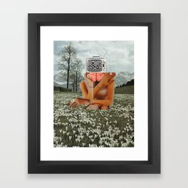 Somekind of Osterhase Framed Art Print