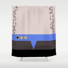 Jadzia Dax - Minimalist Star Trek DS9 Deep Space Nine - startrek - Trektangle - Trektangles Shower Curtain