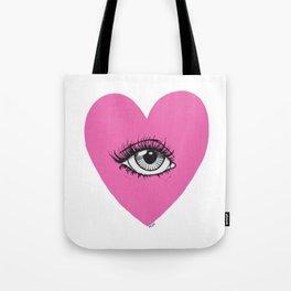 Love is watching Tote Bag
