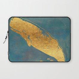 Deep Sea Life Whale Laptop Sleeve