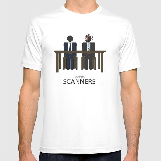 Scanners - Altenative Movie Poster T-shirt