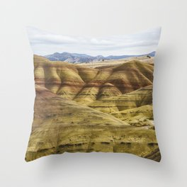 Time in Layers Throw Pillow