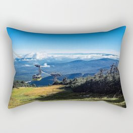 Cannon Mountain's Aerial Tramway Rectangular Pillow