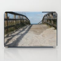 boardwalk empire iPad Cases featuring Boardwalk by Ink and Paint Studio