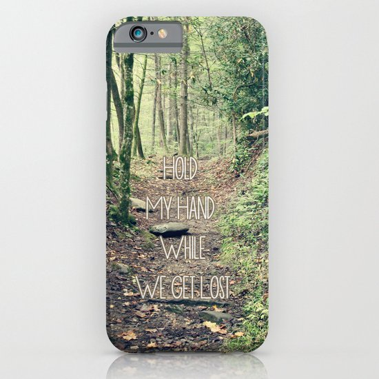 Hold My Hand iPhone & iPod Case