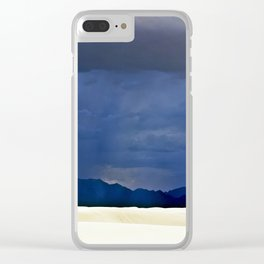 White Sands II Clear iPhone Case