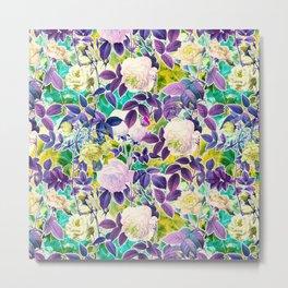 Future Garden Multicolor II Metal Print