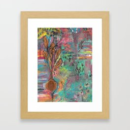 Autumn Moon Beet Framed Art Print