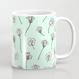 Dainty Wildflowers - Mint & Blush Coffee Mug
