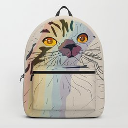 Rainbow Cat Backpack