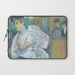 "Henri de Toulouse-Lautrec ""Jane Avril Dancing"" Laptop Sleeve"