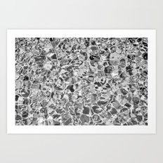 B&W Feel the Summer Art Print