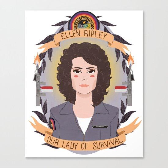 Ellen Ripley Canvas Print