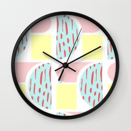 Animal Crackers Wall Clock