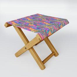 Tropic Exotic Folding Stool
