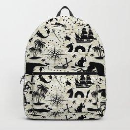 High Seas Adventure // Yellow Waves Backpack