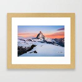 Matterhorn - Switzerland  (RR60) Framed Art Print