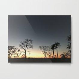 Sunset on Jardins/MS Metal Print