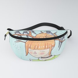 Magpie Girl Fanny Pack
