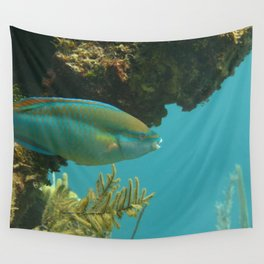 Parrotfish profile Wall Tapestry