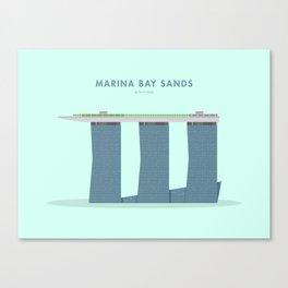 Marina Bay Sands, Singapore [Building Singapore] Canvas Print
