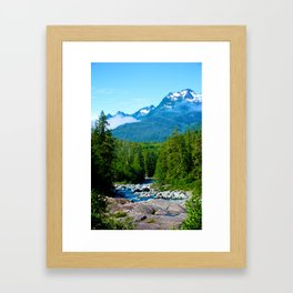 Nature Rules · Vancouver Island, Canada Framed Art Print